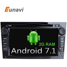 Quad Core Android 7.1 2 din Car DVD Stereo for Vauxhall Opel Astra H G Vectra Antara Zafira Corsa DVD GPS Navi Radio 3 color