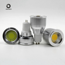 3W 5W 7W 9W 10 12W COB Dimmable Gu10  LED spotlight bulb E27 E14 Gu5.3 Spot Light Dimmable AC85-265V LED Gu10 Downlight