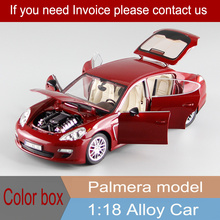 Collector's Edition Luxury Car Model Palmera 1:18 Alloy Static Model Sports Car Model Color Box Package Toys Kids Boy Gifts(China)