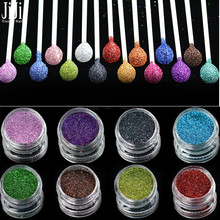 1pcs 1g Jar Holographic Laser Shining Nail Glitters Dust Nail Tips UV Acrylic Decor Glitter Powder Beauty Accessories JIL01-16