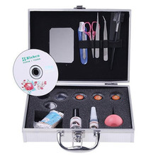 False Eyelashes Extension Kit Professional Grafting Curler False Eyelash Growth Full Set With Box For Makeup Set