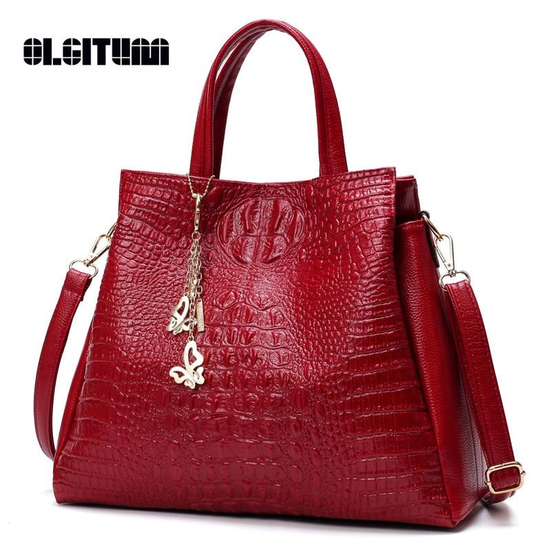 OLGITUM New 2017 Fashion Brand Womens Fashion Shoulder Bag Pu Leather High Quality Ladies Bag Ladies Handbags HB172<br>