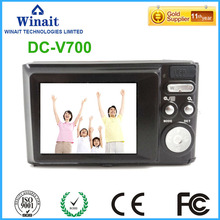 Full HD 1080P Digital Camera 18MP 3x Optical Zoom Cheap Camera Digital DC-V700 32MB+EX 32GB SD Memory Photo Camera Camcorder