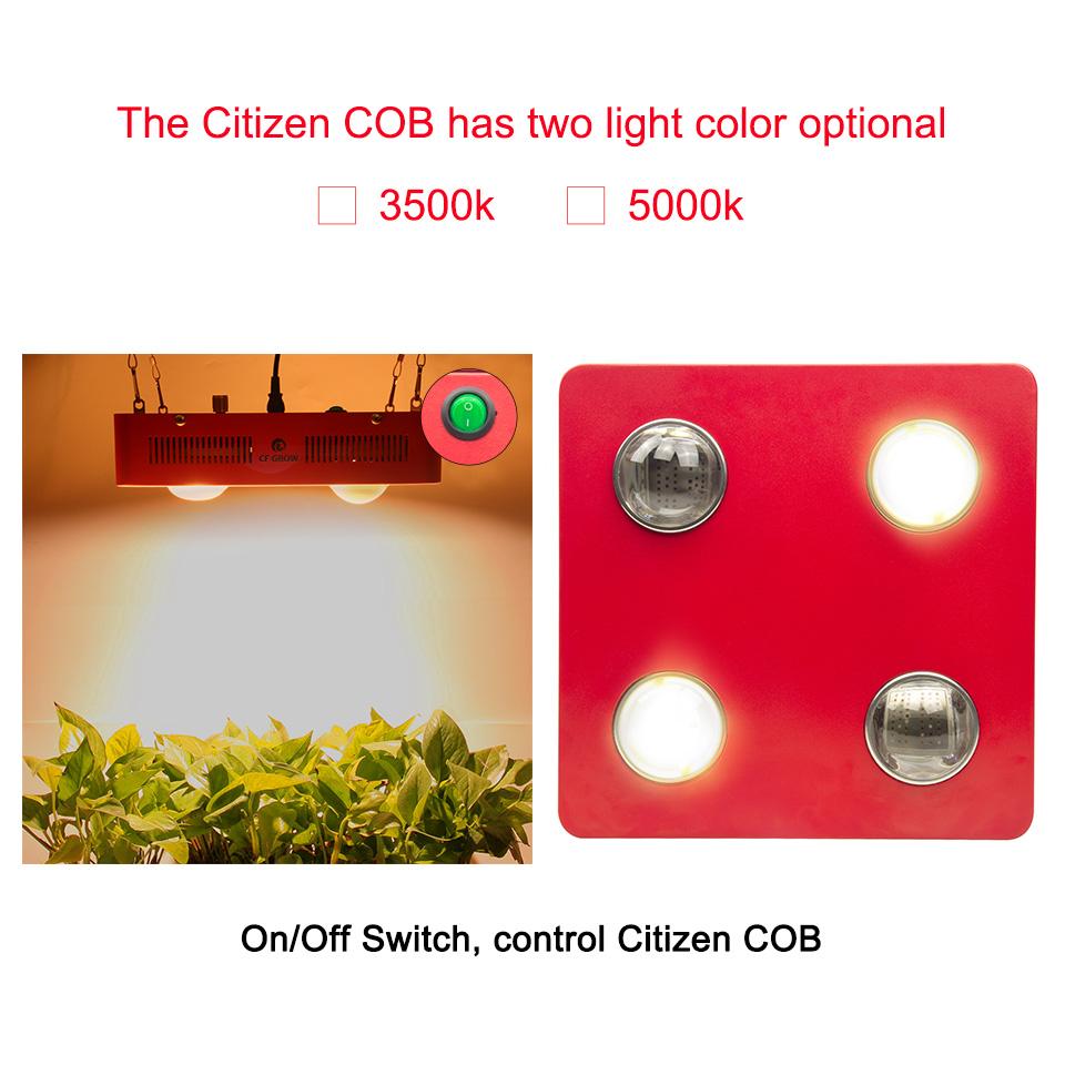 Citizen Bridgelux COB led grow ligth -08