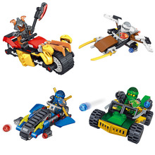 6IN1 NEW Ninjago Series Building Blocks Sets Phantom Ninja Ships chariots Best Blocks Gifts legoINGLYS Ninjago Toys for Children