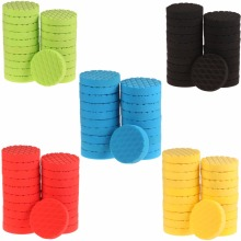 SPTA 6 inch (150mm ) Yellow/Red/Blue/Black/Green Buff Pad Polishing Pad kit For Car Polisher --Select Color -DIY Quality(China)