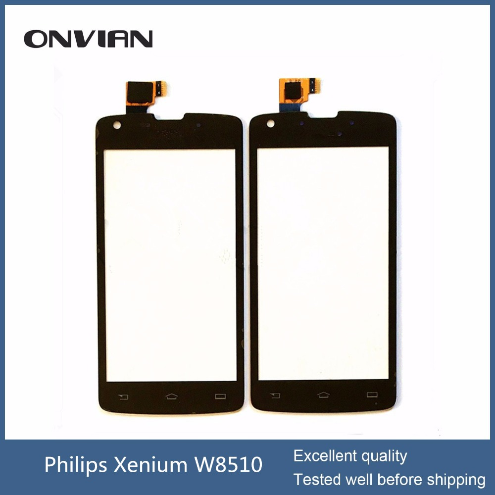 For Philips Xenium W8510 Touch Screen Digitizer Replacement Mobile Phone Outer Glass Lens with assuring<br><br>Aliexpress
