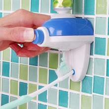 1Pcs ABS Automatic Auto Squeezer Hands Free Squeeze out Touch Toothpaste Dispenser Bathroom Accessories