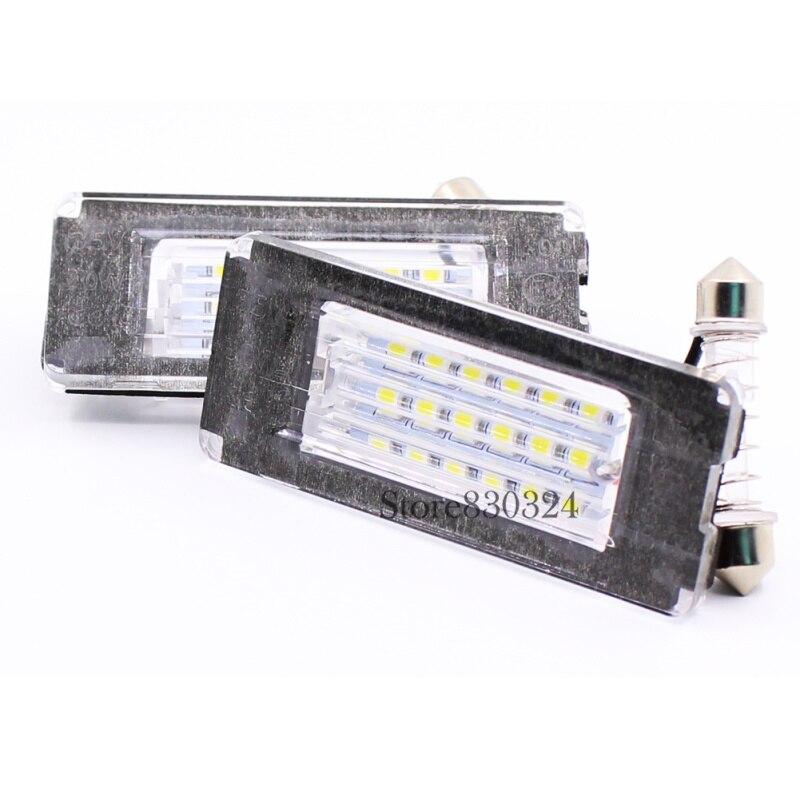 2 ampoules à LED Blanc Miroir de courtoisie pour Mini R50  R55 R56 R57 R60 R61