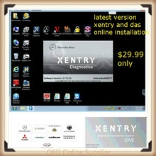 2017.09 MB STAR C4 SD C4 software xentry and das Online installation send you free download link but installation fee $29.99(China)