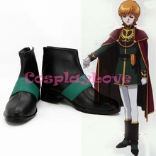 MOBILE SUIT GUNDAM UC Mineva Lao Zabi Cosplay Shoes Boots Hand Made Custom-made For Halloween Christmas CosplayLove(China)