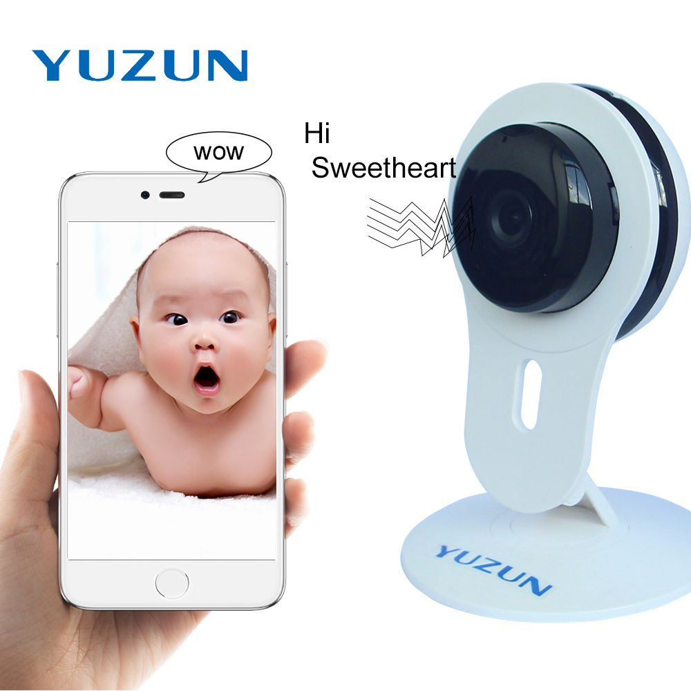 Wireless Suriveillance Mini IP Camera Smart home 720P alarm systems Security Home Wifi CCTV Camera Baby Monitor with 2 way audio<br>