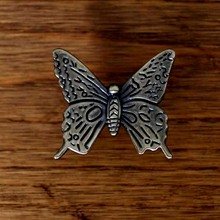 Furniture Knobs Zinc alloy Door Knobs Handles Butterfly Shape Cabinet Drawer Pull Home Decor Chest Bin Dresser knobs