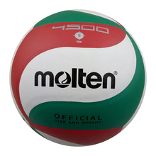 Molten V5M4500 V5M5000 Volleyball Balls Official Weight Size 5 Soft Touch Outdoor Indoor Training Competition Handball Voleibol(China)