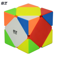 Qiyi Qicheng Skewb Cube Black/Stickerless Speed Cube Puzzle Educational Toys For Children Drop Shipping Fidget Cube(China)