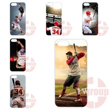 For Huawei G6 G7 G8 Honor 5A 8 V8 Note 8 For Xiaomi Redmi Pro 3S Prime 3X Hard Plastic Bryce Harper Baseball Original
