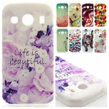 Fashion Pattern design Soft TPU Rubber Case Back Cover Skin Pouch For Samsung Galaxy Ace 4 Style LTE G357 G357FZ