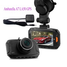 "Ambarella A7 LA50 GPS Blackview Car DVR Module 2.7"" 1296P HD 5MP 170 Degree Dash Cam Camera Recorder Vehicle Camcorder"