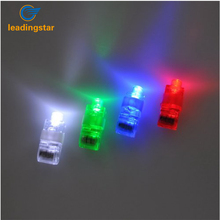LeadingStar Colorful 4pcs LED Finger Lamps Great Children Toy Party Dress Up Tools zk 15(China)