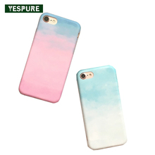 YESPURE Ultra Thin Phone Accessory Case for Iphone 7 Pink Soft Telephone Case Girls Anti Shock Soft Phone Accessories Wholesale(China)