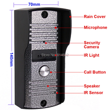 color camera outdoor unit for video doorphone intercom camera