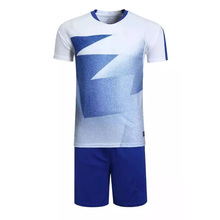 2016/17 New Men Soccer Jersey Football Clothing Paintless Summer Sportswear Set Male Breathable Soccer Football Jersey
