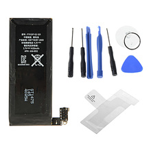 High Quality For Iphone 4 Real Capacity 1420mAh With Machine Tools Kit Mobile Batteries W0E19 P0.16