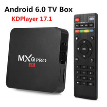 2017 New MX PRO KODI 17.1 Android 6.0 TV Box Amlogic S905X Quad Core 1GB/8GB H. 265 4K 1080i/P Smart Media Player MXQ PRO PK X96