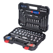 WORKPRO 101PC Mechanic Tools Car Repair Tool Sets Socket Wrenches Screwdrivers Ratchet Combination Tool Kits New