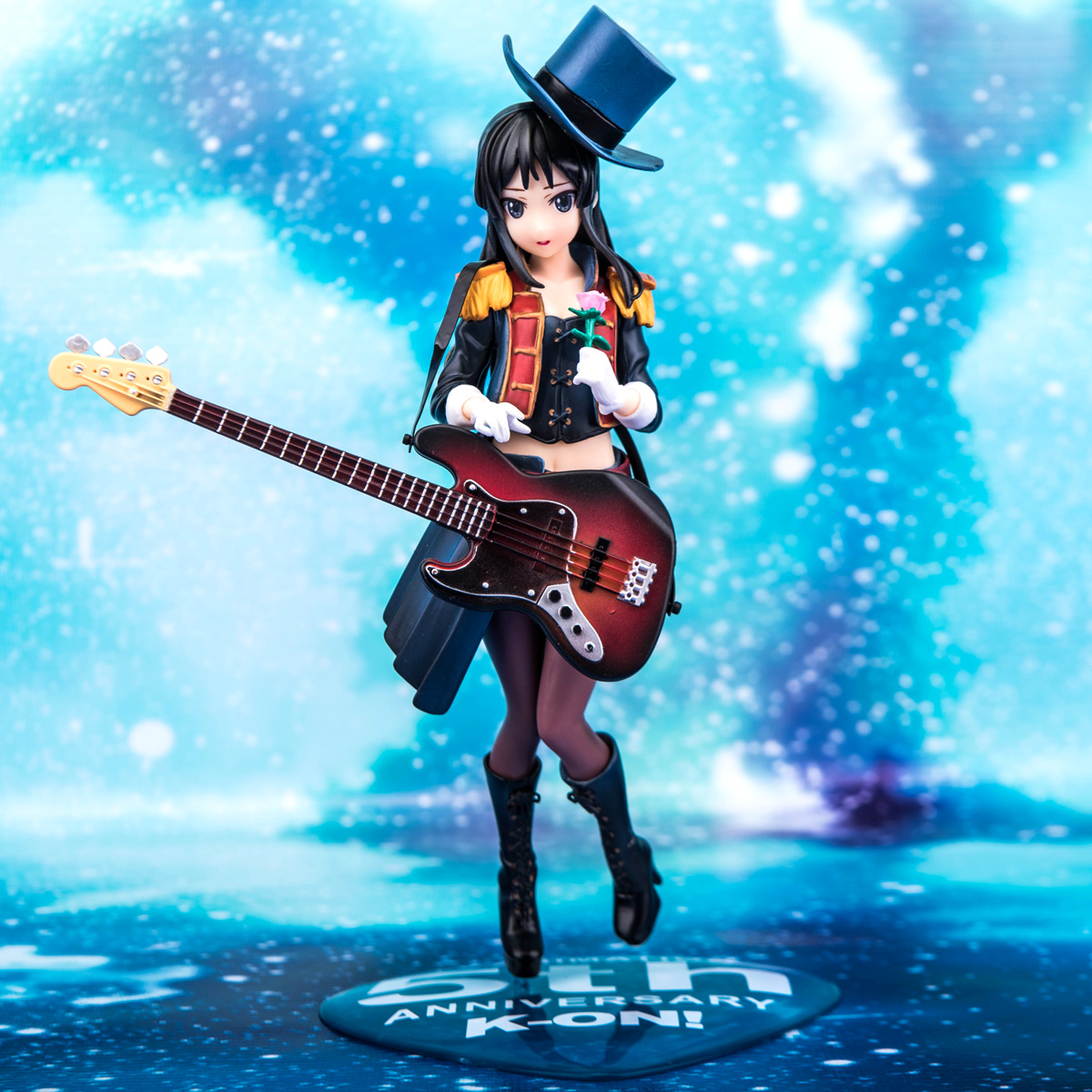 Hot 1pcs 20cm pvc Japanese sexy anime figure K-ON Akiyama Mio 5th Anniversary action figure collectible model toys brinquedos<br><br>Aliexpress