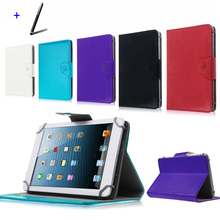 "For Asus Transformer Book T100TA dock/T100HA 10.1"" Inch Universal Tablet PU Leather cover case Free Stylus Pen"