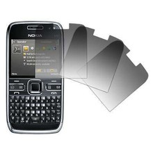 5pcs/lot For Nokia E 72 Ultra Clear LCD Screen Protector For Nokia E72 Protective Film (5x film+5x cloth)