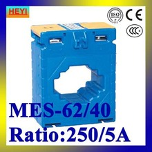 Class 0.5 CP Series MES-62/40 250/5A current transformer low voltage high accuracy(China)