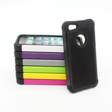 Rugged non-slip Impact Rubber Hard Mobile Phone Case Cover For iphone 5C