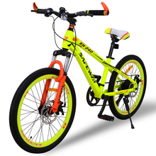 a09 High Quality Export Youth7 speed MTB Bike Double Disc Brake Street Mountain Bike Cycling child's bicycle 22 Inch(China)
