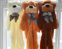 1 piece highquality Teddy bear plush toys coat Factory Price holesale bear shell Teddy bear plush toys coat