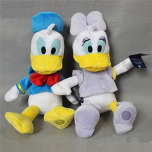 50cm=19.6inch Original Donald Duck And Daisy duck Stuffed animals plush Toys High quality Pelucia Donald Duck Plush Toy