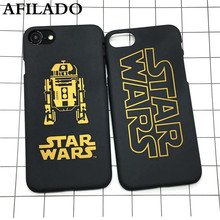 Fashion Star Wars Slim Hard Matte Plastic Back Cover for iPhone 7 plus Phone Case Luxury Movie Film Ultra Thin Shell Capa Coque