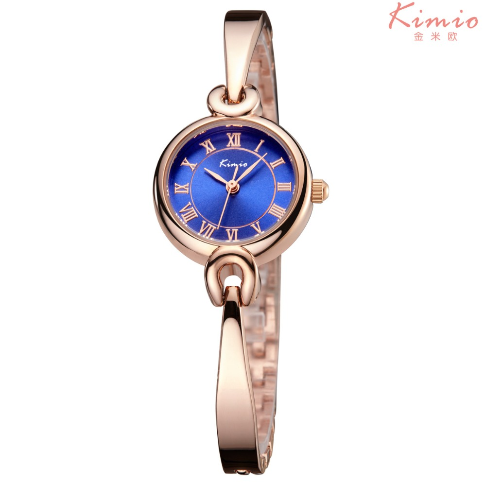 2017 New Luxury Blue Jewelry Women Watch Waterproof Fashion Casual Kimio Stainless Steel Watch Ladies montre homme marque deluxe<br><br>Aliexpress