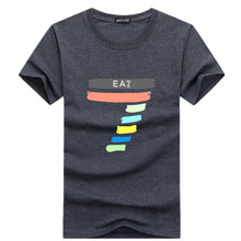 Summer Promotions  fashion Hip-Hop Shirt Round collar short sleeve T-shirt men fashion t shirt wholesale short sleeves FX117