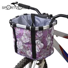 Bicycle Basket Bicycle Basket Dog Pets Carriers Supplier Bike Cat Seat Shopping Stuff Baskets Best Seller Bike Accessories B123(China)
