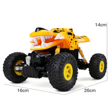 Buy 1/18 2.4GHZ 4WD Radio Remote Control Climbing Road Tires Machine RC Car ATV Buggy Monster Truck Tiger Toys Boys OC26B for $40.67 in AliExpress store