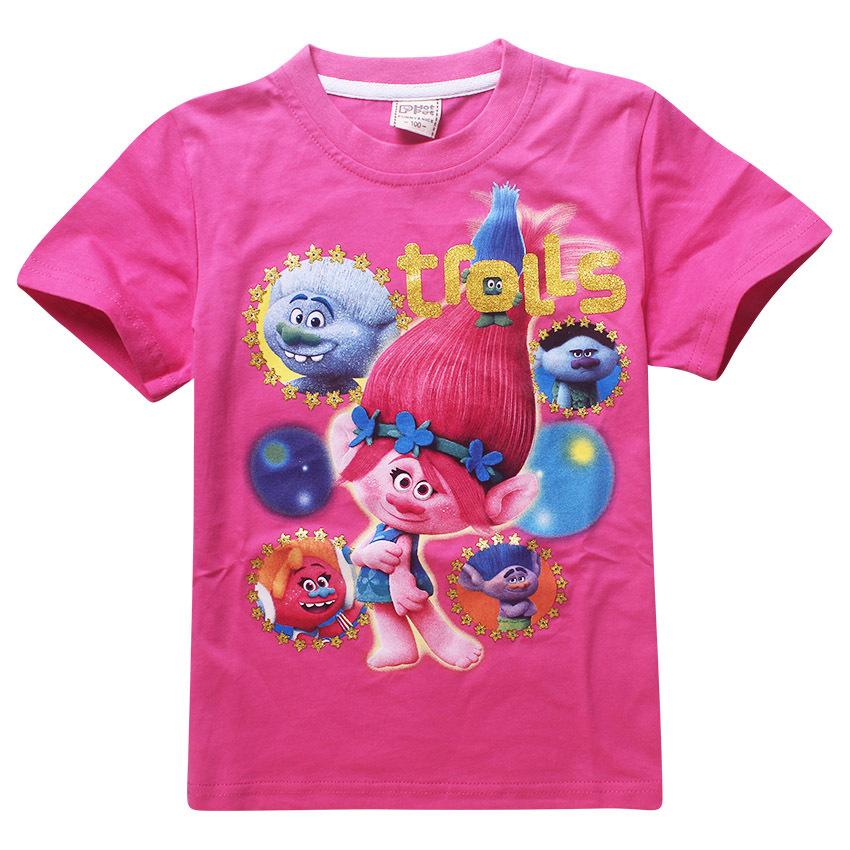 Maui Moana little girl t shirts cartoon character printing t-shirt girls clothing kids Cute pattern costumes 4 6 8 10 12 years 2