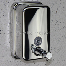 1000ML Hot selling Stainless Steel Hotel Market soap dispenser  8241-1A