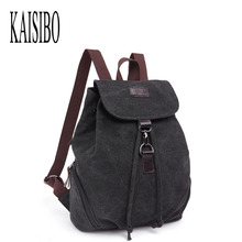 KAISIBO Women's Casual Daykpacks Canvas Backpack Student School Bags For Teenager Girls Travel Mountaineering Rucksacks