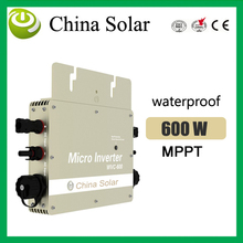 600W Solar Micro Inverter Grid Tie With Monitering Function For PV Grid System wvc-600w