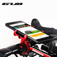 GUB G-86 Universal Bike Phone Stand Aluminum Bicycle Handlebar Mount Holder For iPhone Samsung Nokia Cycling Accessories(China)