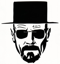 Heisenberg Very cool Vinyl Decal / Sticker Car window, motorcycle, laptop Boat ,AUTO,Truck Bumper Wall Graphic New Marvel Comics