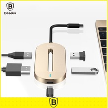 Baseus Universal 3.0 HUB Type-c Multi-Function Converter Type C Male to HDMI USB Female Adapter Cable For Macbook Notebook