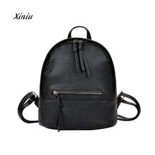 Women's Preppy Style Letter Backpack High Quality School Backpacks Mini Travel Shoulder Bag Laptop Backpacks For Teenage Girls(China)